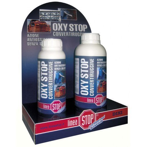 Convertitore di ruggine con azione antiossidante. ml 750