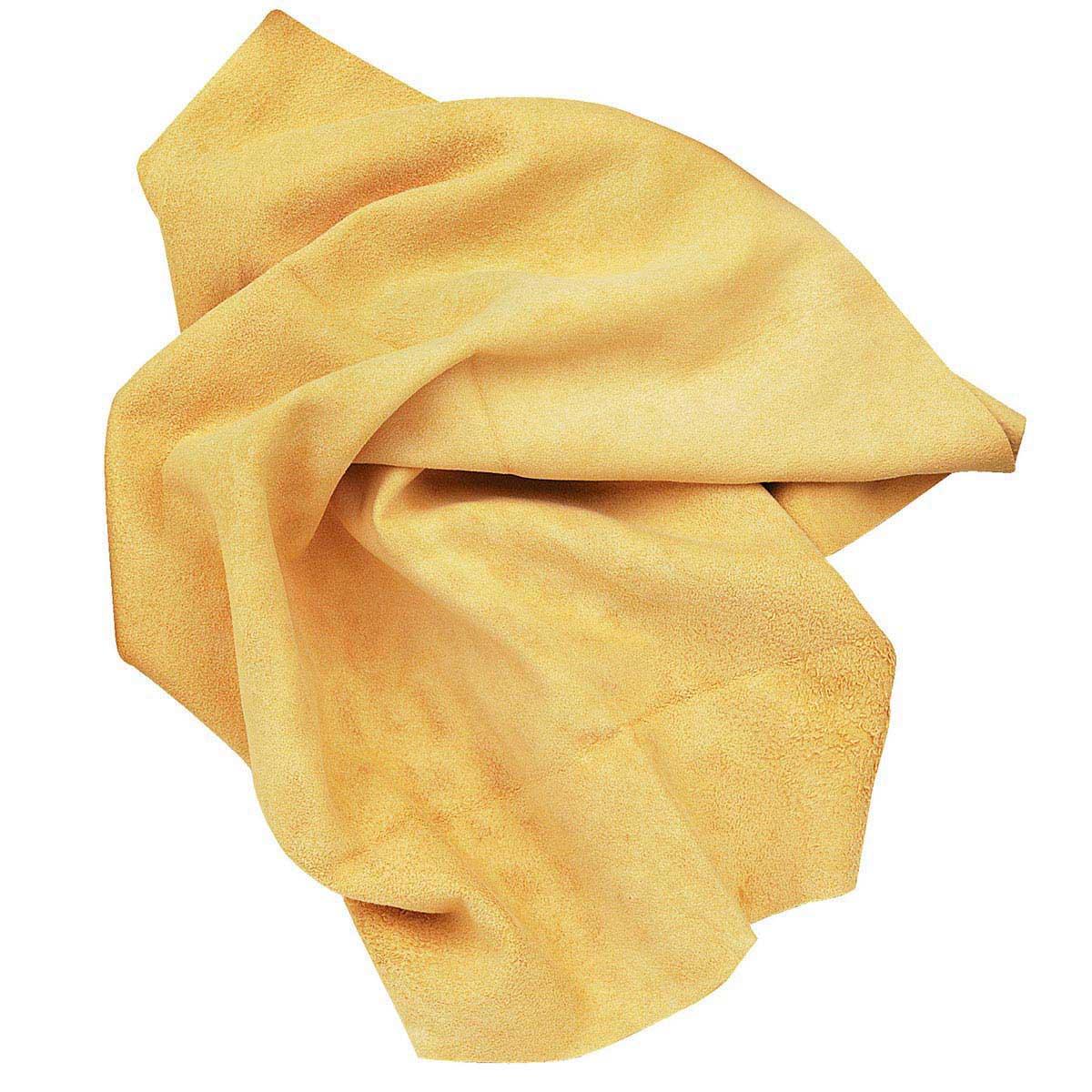 Pelle scamosciata naturale. Misura 53x34