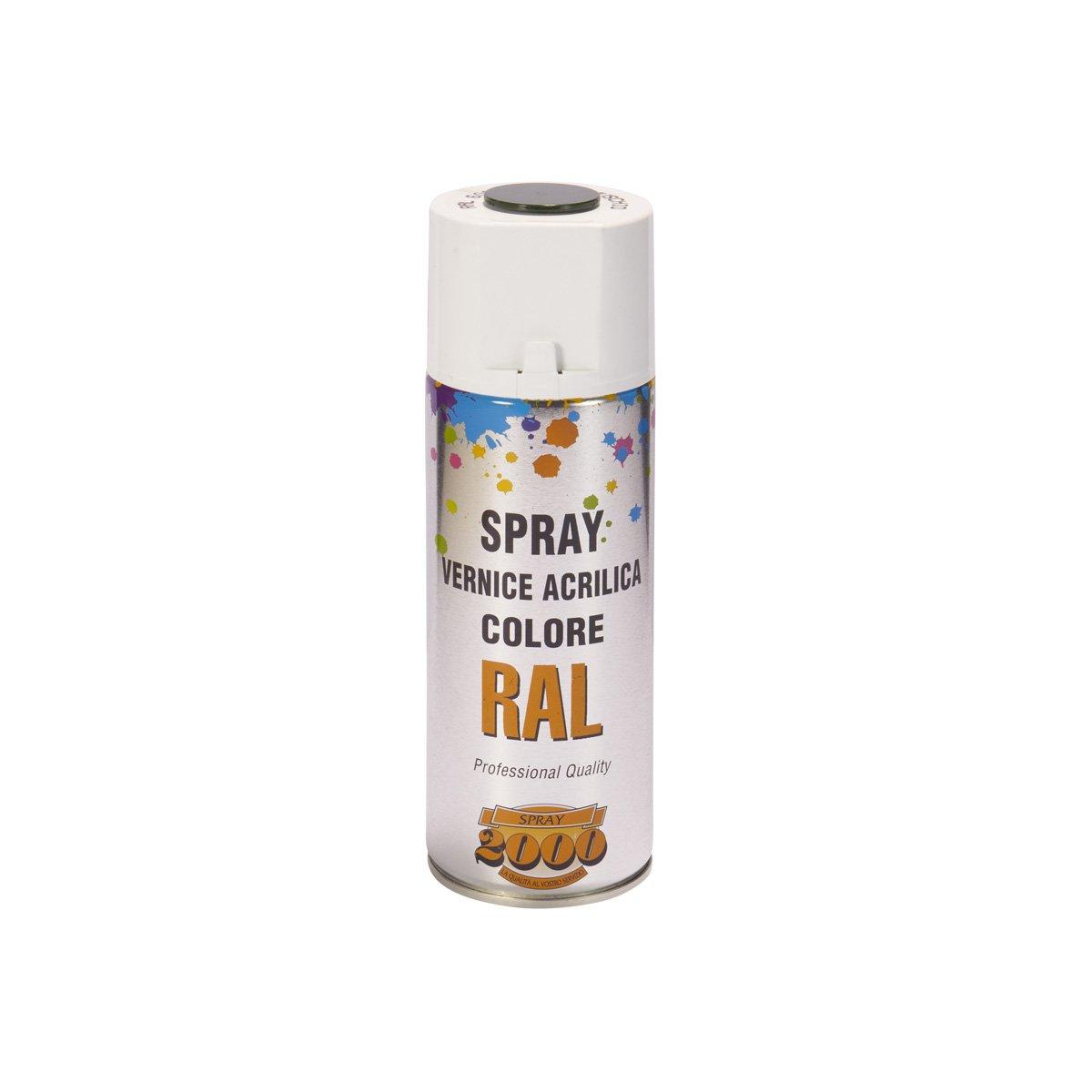 Bomboletta spray acrilica da 400 ml. Rosso fuoco